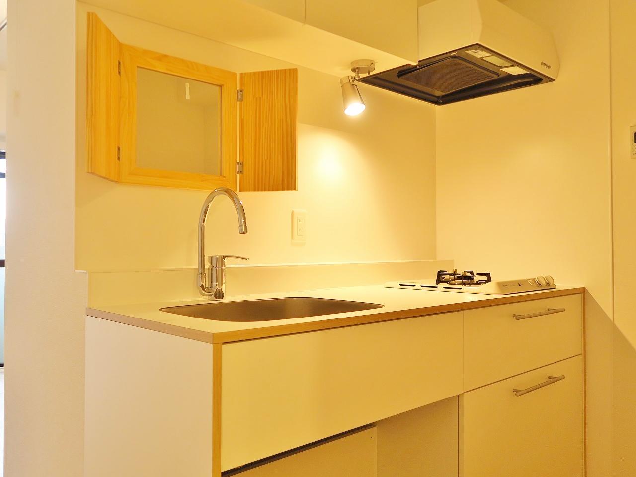 洗面台のリノベーション事例1