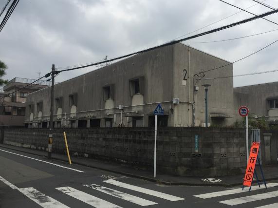 リノベーション前の建物
