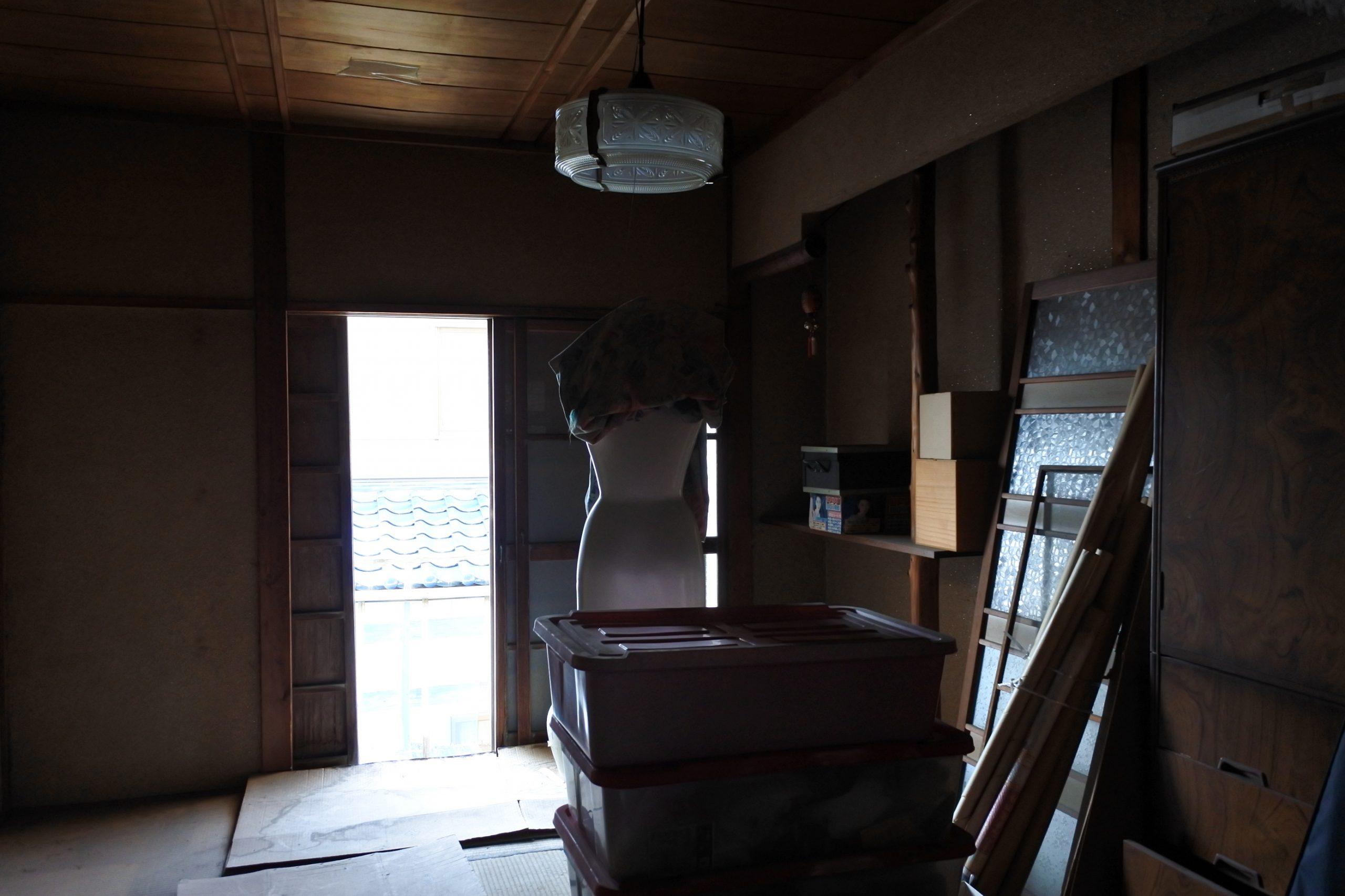リノベーション前の居室